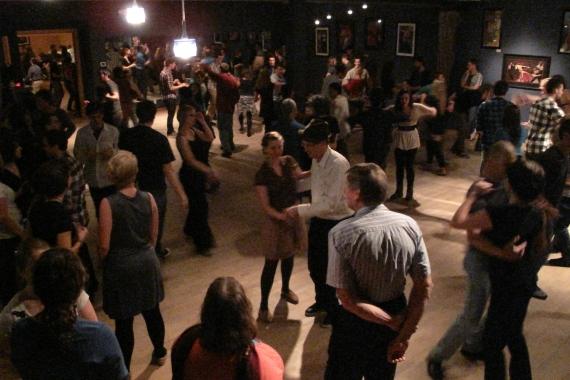 Social Dance Studio on a Thursday Night
